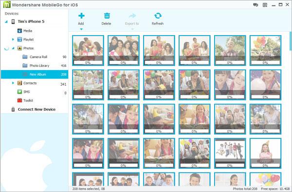 Copiare Foto da iPhone e iPad su Chiavetta USB