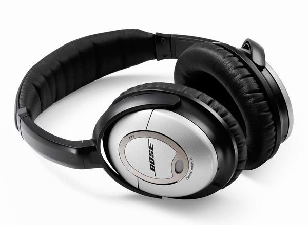 Musica Super con le Cuffie Bose QuietComfort 15