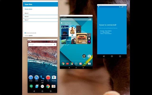 utilizzare smartphone attraverso Chrome