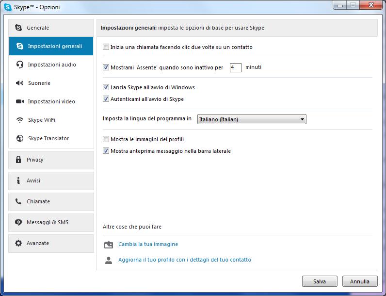 Problema Skype risulta sempre In Linea: come risolvere