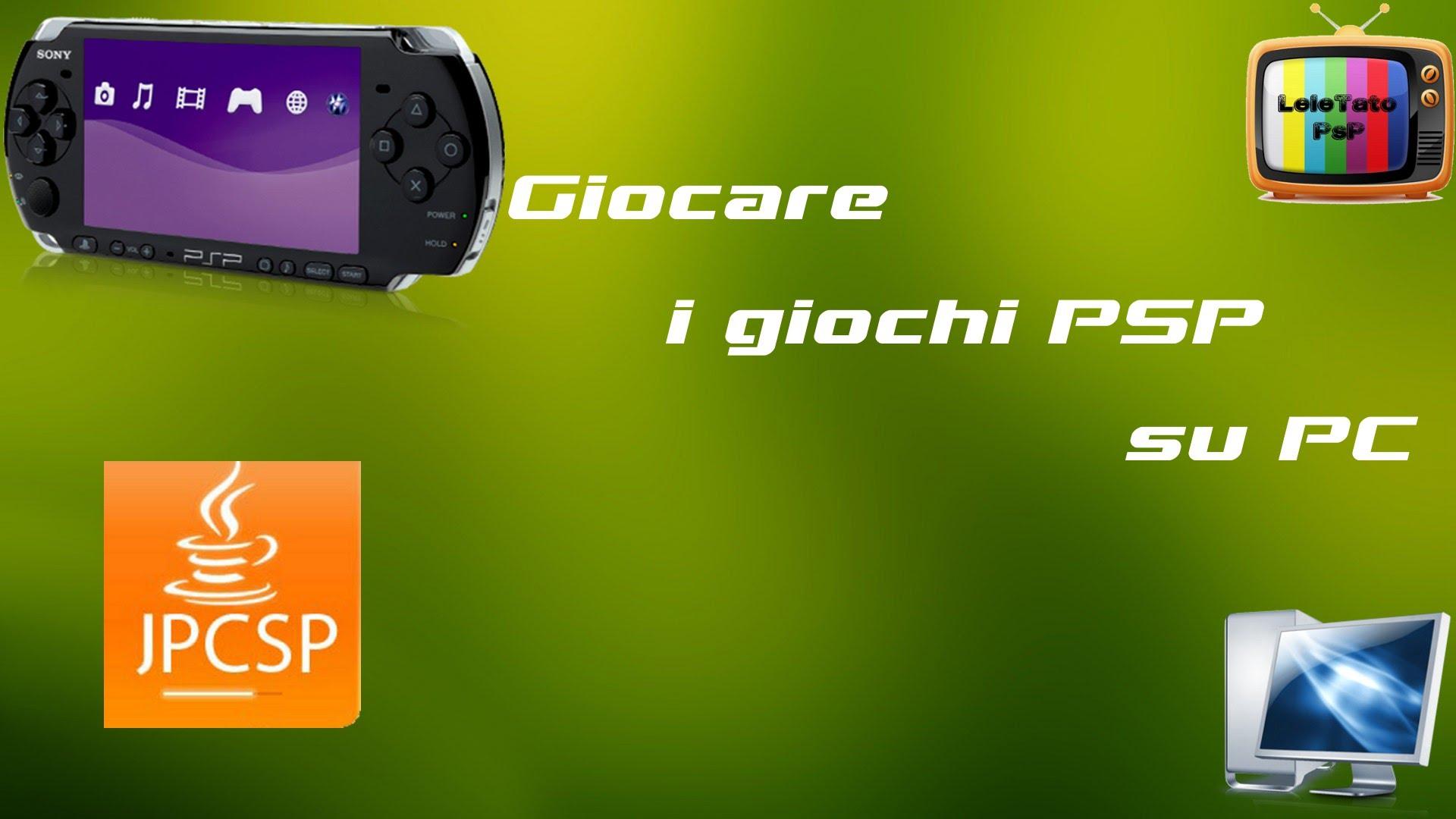 Come usare i giochi PSP sul computer