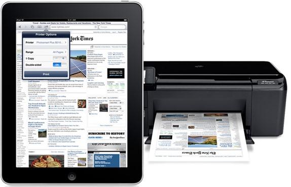 Stampare da iPad