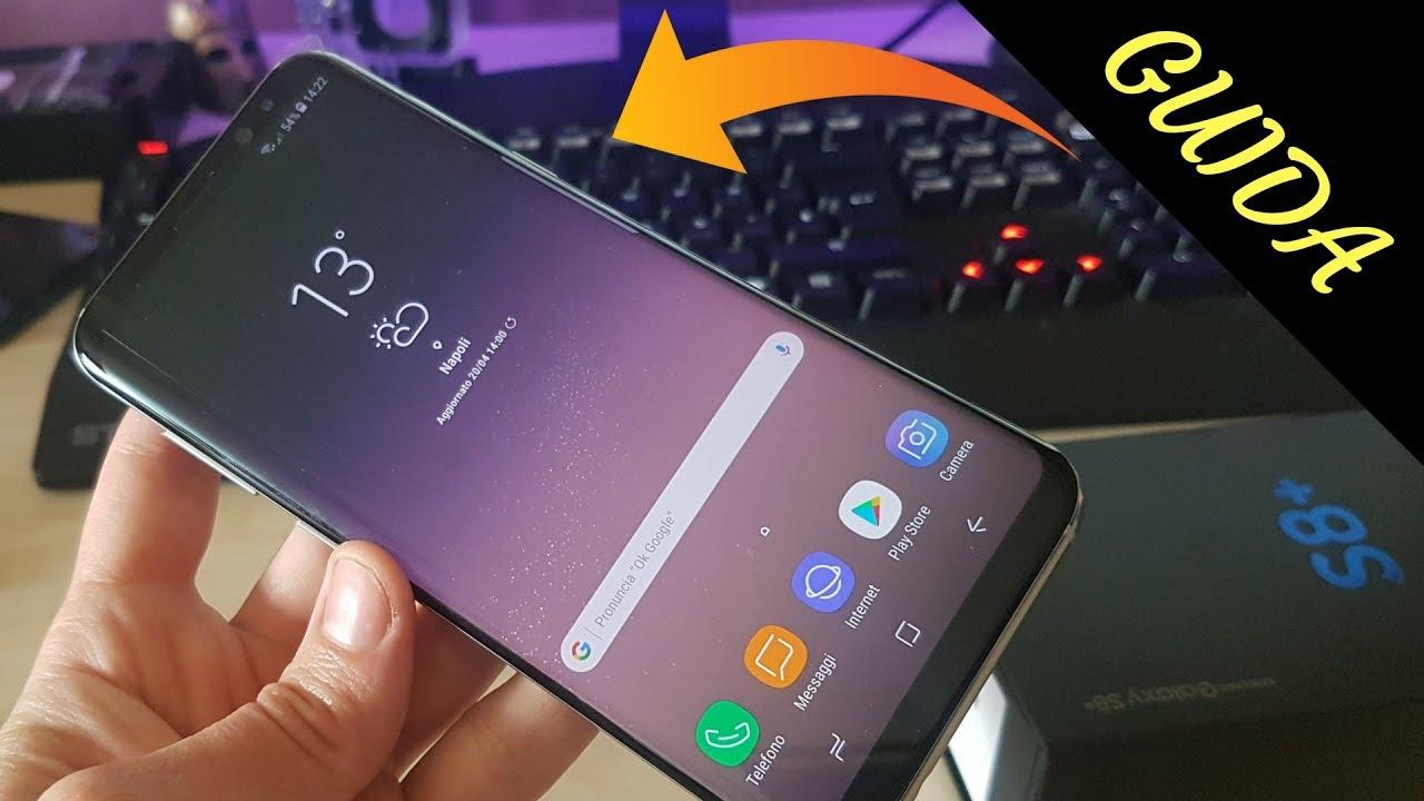 Come regolare la risoluzione dello schermo su Samsung Galaxy S8 e migliorare l'autonomia