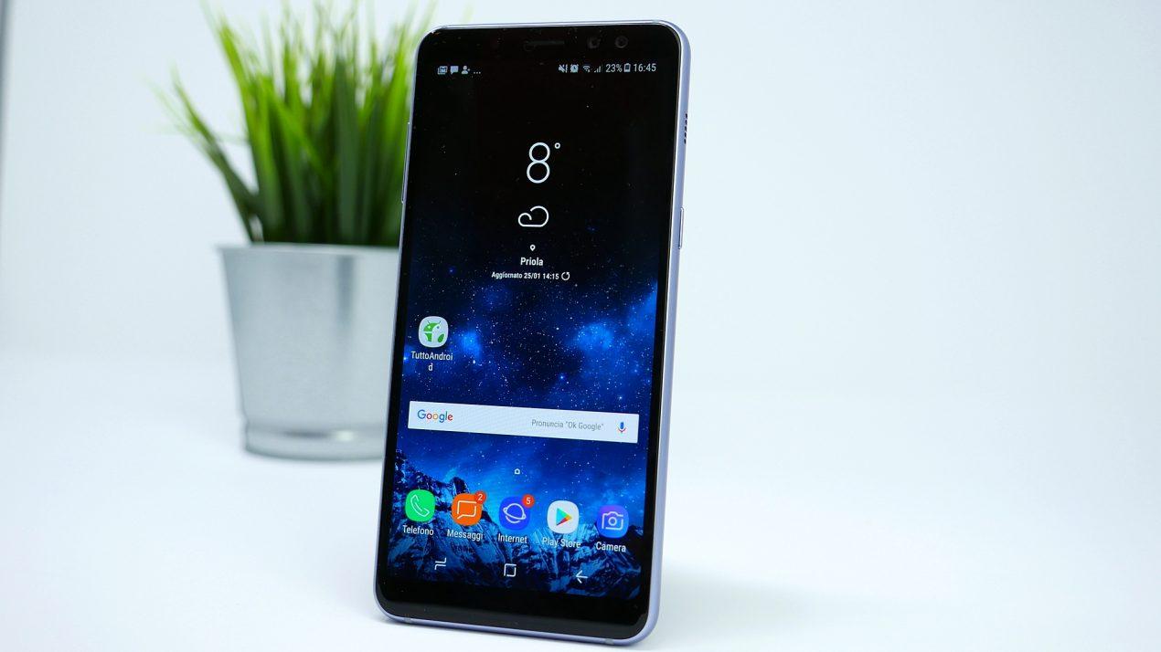 Come personalizzare la percezione dei suoni su Samsung Galaxy A8