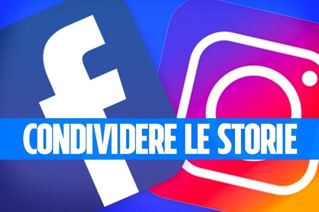 Come condividere una storia Instagram su Facebook
