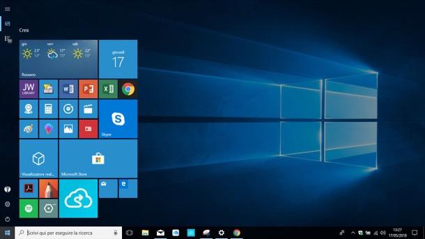 Come modificare le dimensioni del menu Start di Windows 10