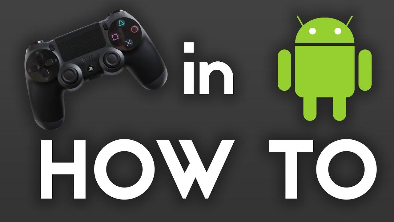Come collegare il controller PS4 su Android