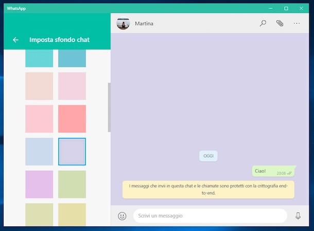 Come cambiare lo sfondo di Whatsapp su iOS