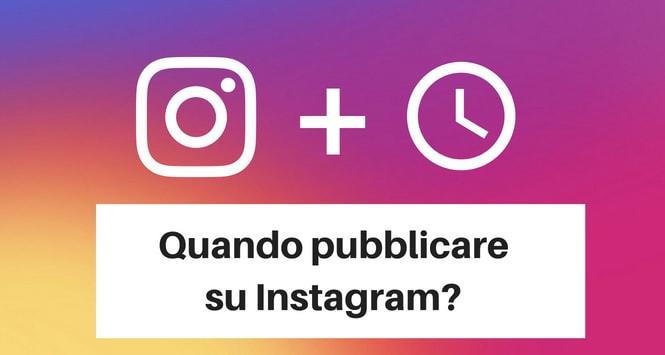 A che ora pubblicare le foto su Instagram