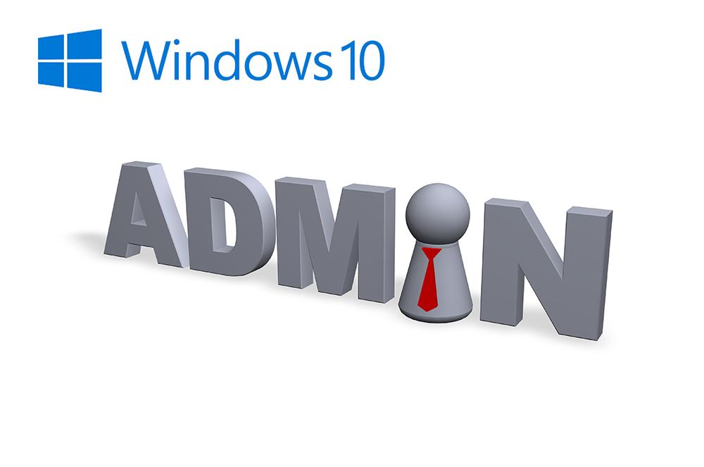 Come attivare account amministratore su Windows 10