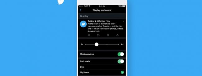 Come attivare la Dark Mode su Twitter dall'app mobile