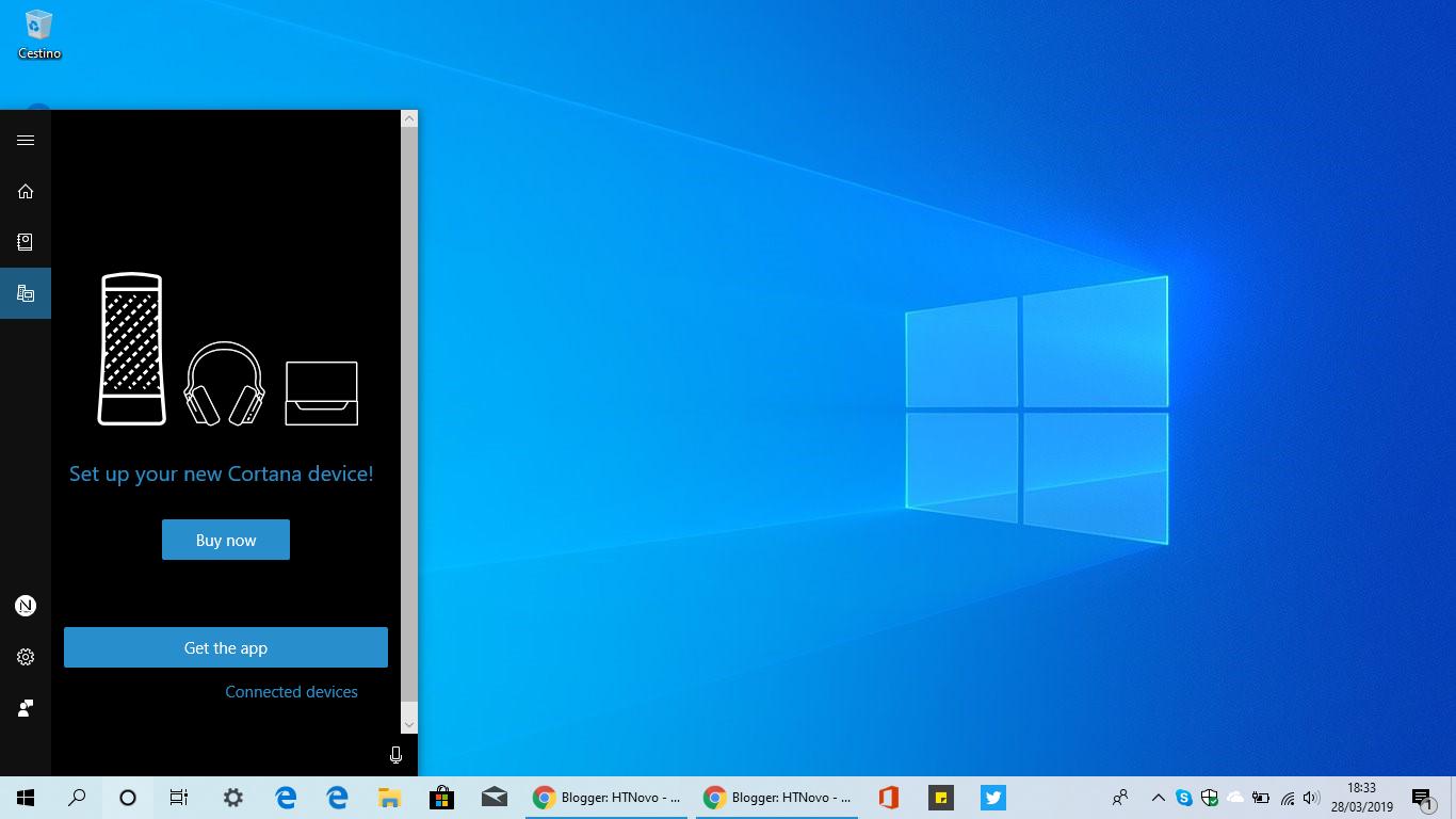 Come aggiungere una nuova località su Cortana