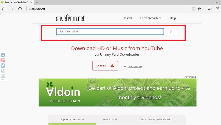 Come scaricare video di YouTube da Mac con SaveFrom
