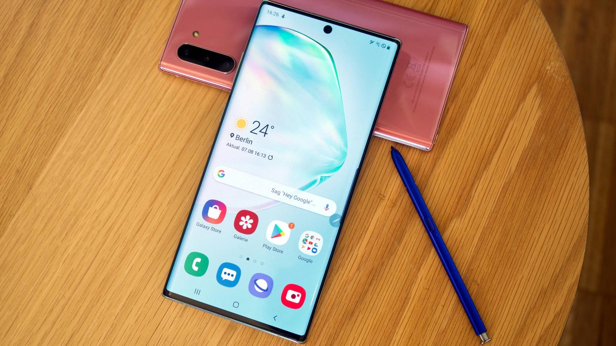 Come modificare il layout della schermata principale su Samsung Galaxy Note 10