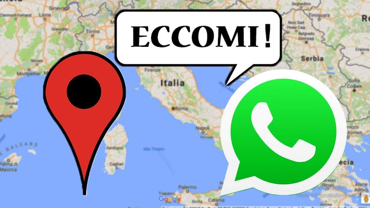 Come condividere la propria posizione su WhatsApp