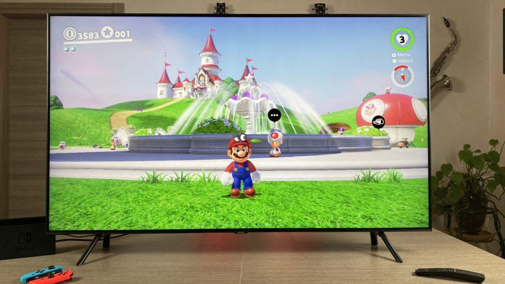 Come attivare la modalità Game mode sulla Smart TV Samsung