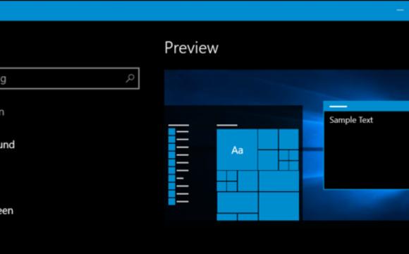 Come attivare tema scuro su Windows 10