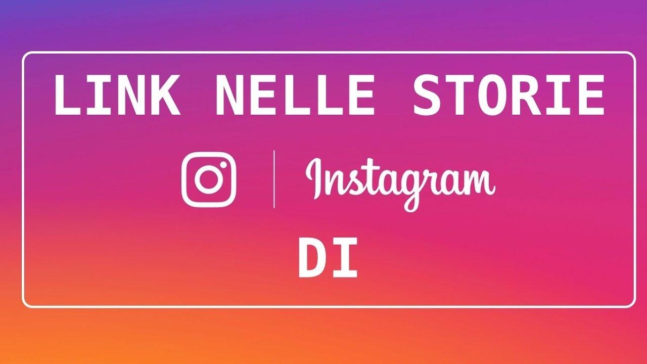Come inserire un link nelle storie Instagram