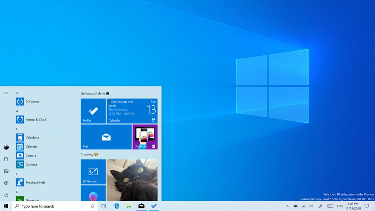 come aggiornare il firmware su Windows 10