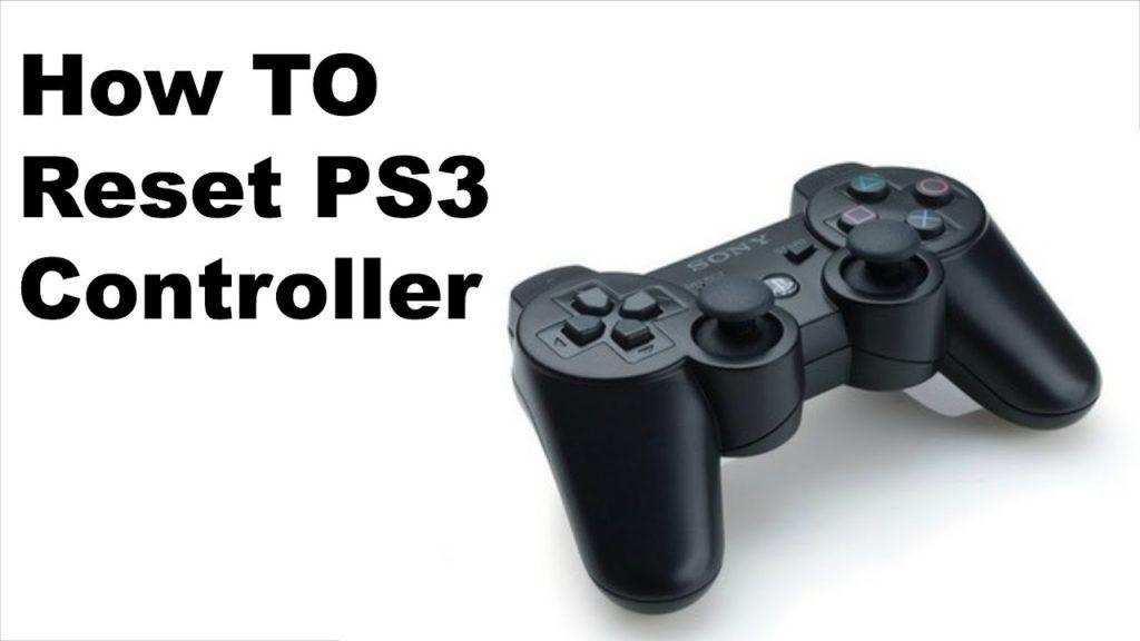 Come ripristinare il controller ps3