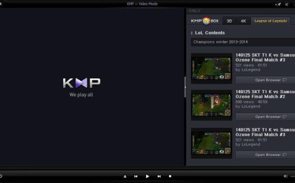 Come eseguire un'acquisizione audio su KMPlayer