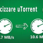 Configurare i limiti di download e upload su UTorrent