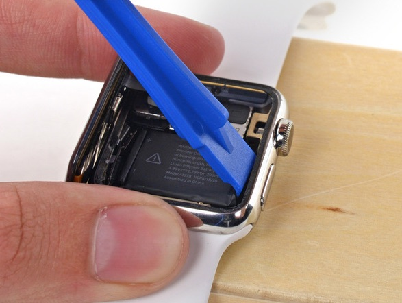 Schermo Apple Watch scollegato
