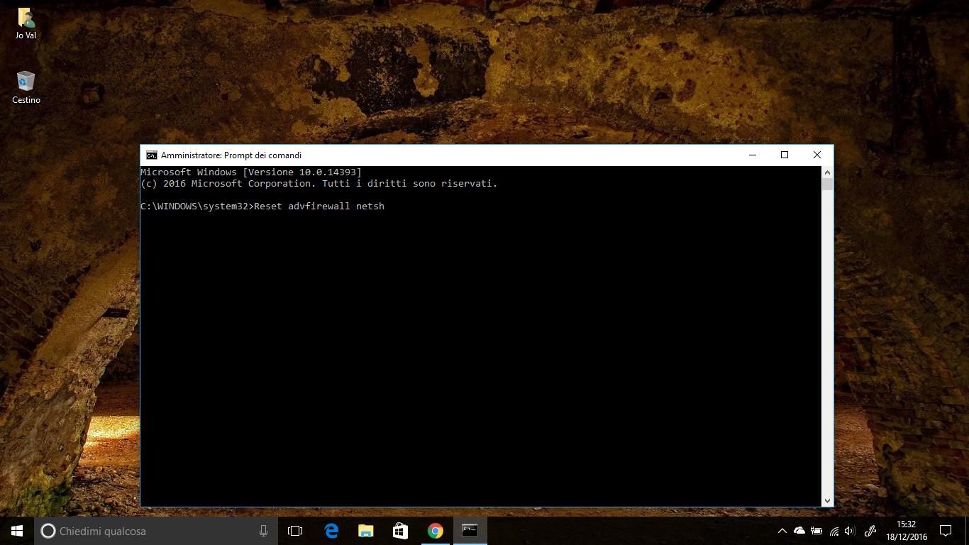 Come avviare il ripristino configurazione di sistema tramite il prompt dei comandi su Windows