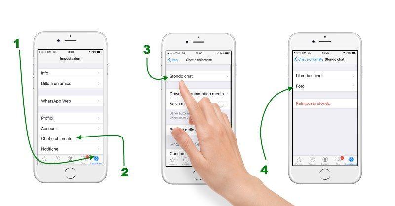 Come cambiare lo sfondo della chat su WhatsApp su iPhone e Android
