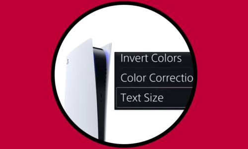 Come modificare e regolare la dimensione del testo e il menu PS5