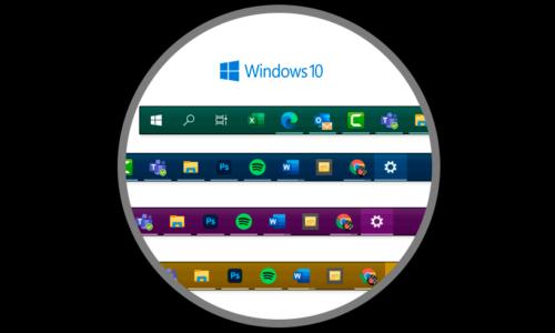 Cambiare il colore della barra delle applicazioni di Windows 10