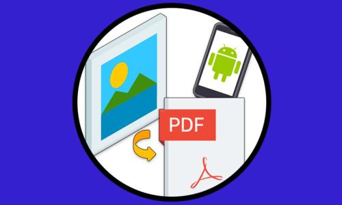 Convertire un'immagine in PDF da cellulare